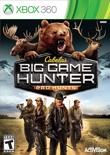 Cabelas Big Game Hunter Pro Hunts xbox360 cover small دانلود بازی Cabelas Big Game Hunter Pro Hunts برای XBOX360