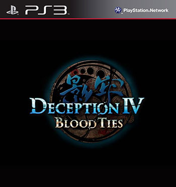Deception IV Blood Ties ps3 cover دانلود بازی Deception IV Blood Ties برای PS3