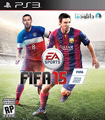 FIFA 15 ps3 cover دانلود بازی FIFA 15 برای PS3
