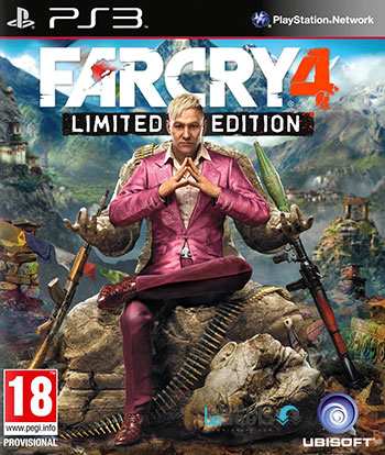 Far Cry 4 ps3 cover small دانلود بازی Far Cry 4 برای PS3
