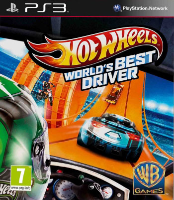 Hot wheels ps3 cover دانلود بازی Hot Wheels World's Best Driver برای PS3