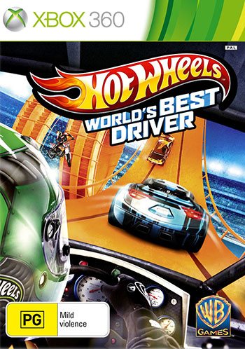 Hot wheels xbox360 cover small دانلود بازی Hot Wheels World's Best Driver برای XBOX360