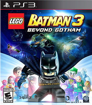 LEGO Batman 3 Beyond Gotham ps3 cover small دانلود بازی LEGO Batman 3 Beyond Gotham برای PS3