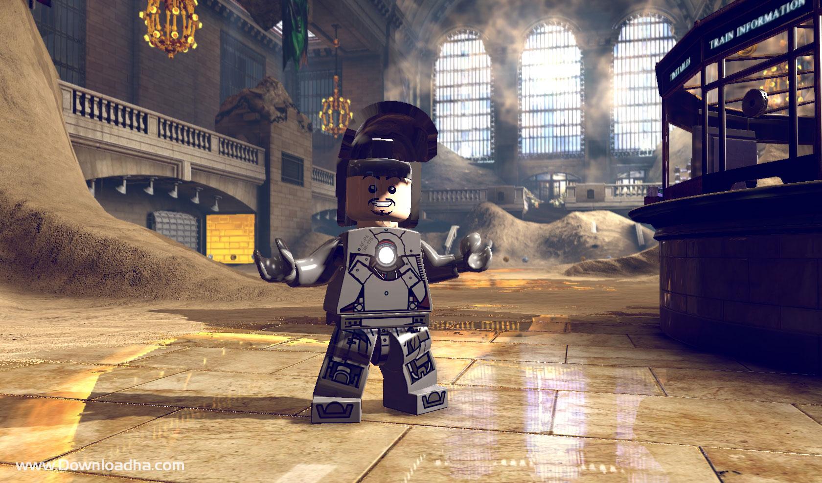 دانلود بازی marvel lego برای کامپیوتر , لگو مارول برای کامپیوتر