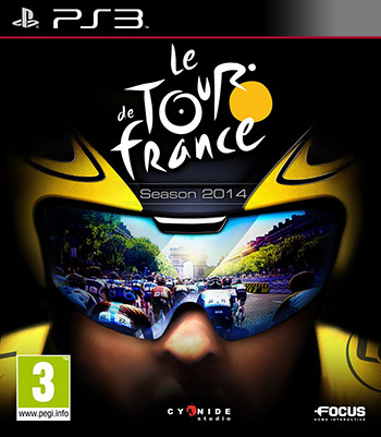 Le Tour De France 2014 ps3 cover small دانلود بازی Le Tour de France 2014 برای PS3