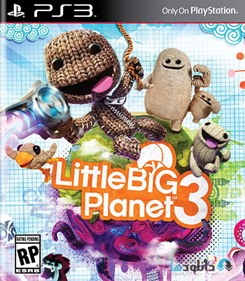 Little Big Planet 3 ps3 cover small دانلود بازی Little Big Planet 3 برای PS3