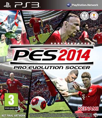 pes 2014 ps3 cover small دانلود دمو بازی Pro Evolution Soccer 2014 برای PS3