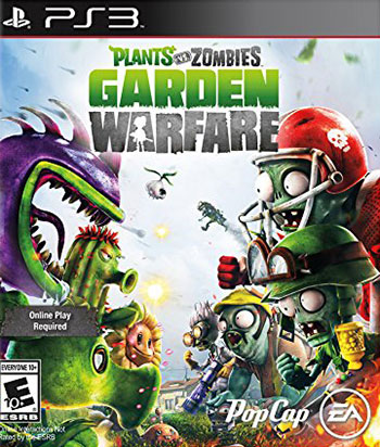 Plants vs Zombies Garden Warfare ps3 cover دانلود بازی Plants vs. Zombies Garden Warfare برای PS3