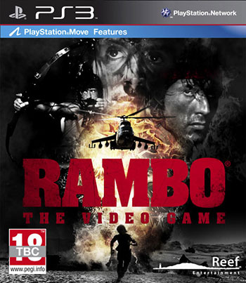 Rambo The video game ps3 cover دانلود بازی Rambo the Video Game برای PS3