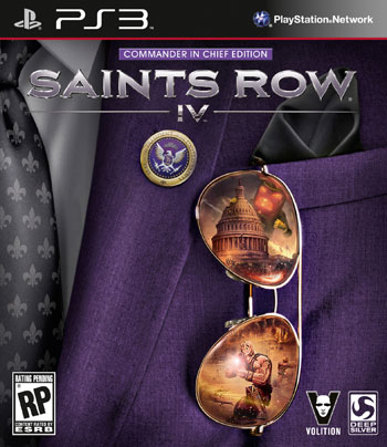 Saints row IV ps3 cover small دانلود بازی Saints Row IV برای PS3