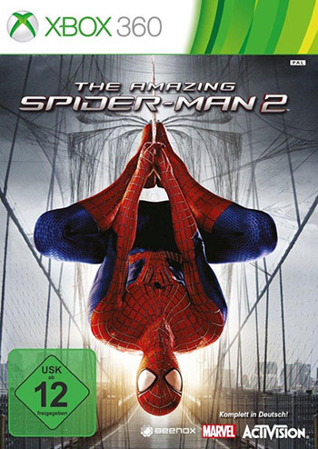 The Amazing Spider man 2 xbox360 cover دانلود بازی The Amazing Spider man 2 برای XBOX360