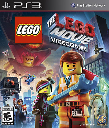 The Lego Movie Videogame ps3 cover small دانلود بازی The Lego Movie Videogame برای PS3