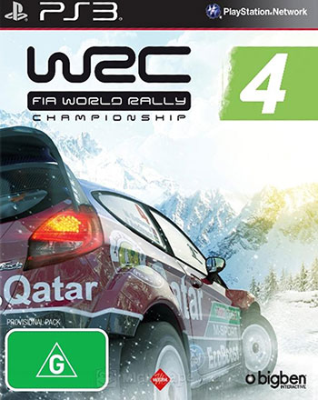 WRC 4 ps3 cover دانلود بازی WRC FIA World Rally Championship 4 برای PS3