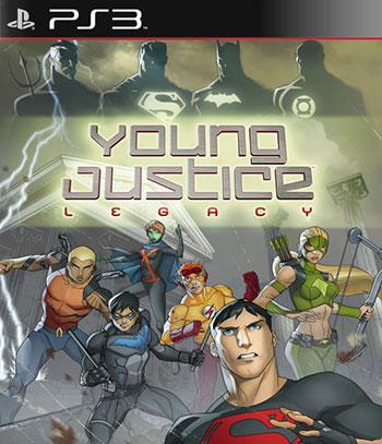 Young Justice Legacy ps3 cover دانلود بازی Young Justice: Legacy برای PS3