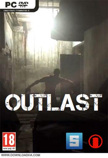 Outlast pc cover دانلود بازی Outlast برای PC
