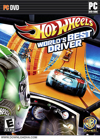 Hot Wheels pc cover دانلود بازی Hot Wheels World's Best Driver برای PC