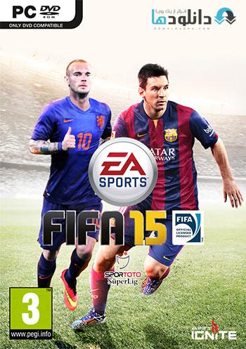 FIFA 15 DEMO pc cover دانلود دمو بازی FIFA 15 برای PC