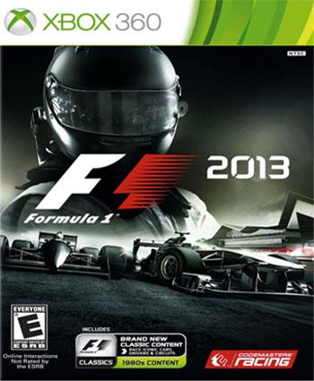 f1 2013 xbox360 cover دانلود بازی F1 2013 برای XBOX360