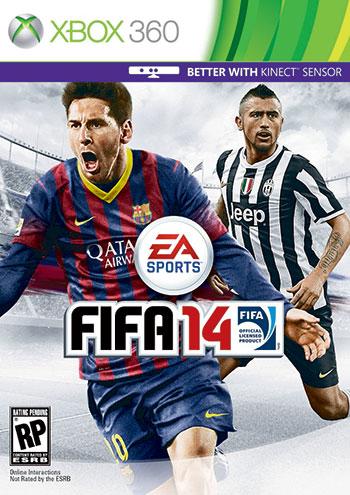 FIFA 14 xbox360 cover دانلود بازی FIFA 14 برای XBOX360