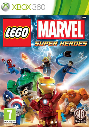 LEGO marvel super heroes xbox360 cover دانلود بازی LEGO Marvel Super Heroes برای XBOX360