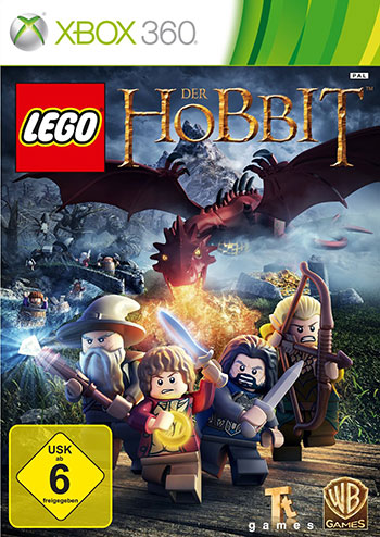 LEGO The Hobbit xbox360 cover small دانلود بازی LEGO The Hobbit برای XBOX360
