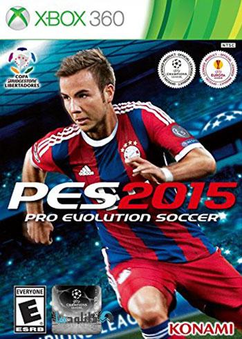 PES 2015 xbox360 cover دانلود بازی Pro Evolution Soccer 2015 برای XBOX360