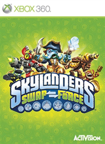 Skylanders swap forces xbox360 cover دانلود بازی Skylanders SWAP Force برای XBOX360