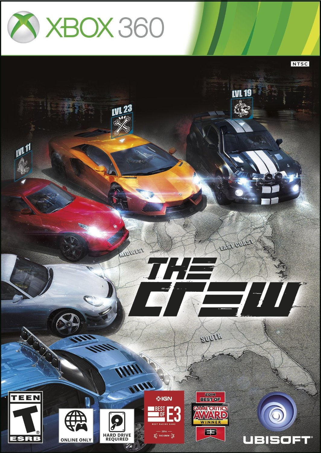 Xbox 360 Car Games : The crew xbox complex free games download